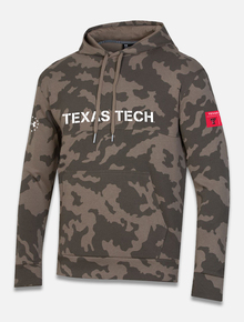 "Texas Tech Red Raiders Under Armour ""Military Appreciation"" Fleece Hood"
