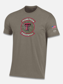 "Texas Tech Red Raiders Under Armour ""Military Appreciation"" Short Sleeve Training T-Shirt"
