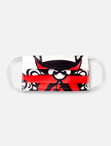 Raider Red Face Mask