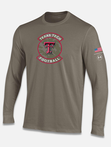 "Texas Tech Red Raiders Under Armour ""Military Appreciation"" Longsleeve T-Shirt"