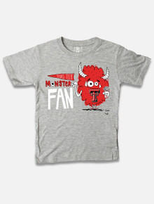 Texas Tech Red Raiders Monster Fan TODDLER Tee