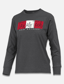"Pressbox Texas Tech Red Raiders ""Amy"" Long Sleeve T-shirt"