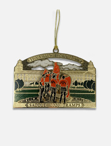 """Texas Tech 2020 """"Saddle Tramps"""" Official 23rd Presidential Ornament"""