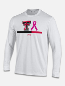 "Texas Tech Red Raiders Under Armour ""Power In Pink"" Long Sleeve T-Shirt"