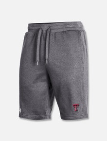 """Texas Tech Red Raiders Under Armour Double T """"Circuit"""" All Day Fleece Short"""