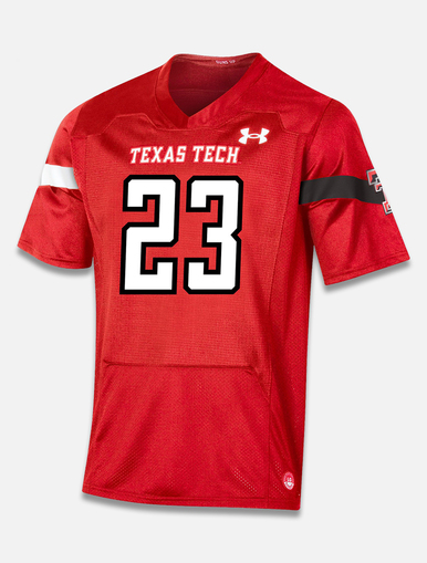"Texas Tech Red Raiders Under Armour ""Sideline 2020"" Football Jersey in Red"