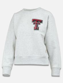 "Pressbox Texas Tech Red Raiders Double T ""Madi"" Pullover"