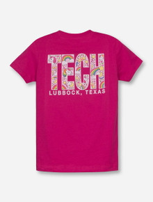 Texas Tech Red Raiders Unicorn Tech Block TODDLER T-Shirt
