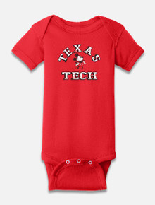 """Disney x Red Raider Outfitter Texas Tech """"Man Cave"""" INFANT Onesie"""