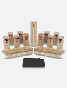 Texas Tech Red Raiders Kubb Viking Chess Game