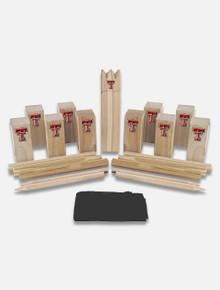 Texas Tech Red Raiders Kubb Viking Chess Game