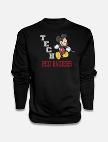 "Disney x Red Raider Outfitter Texas Tech ""Strutting Mickey"" Crew Sweatshirt"