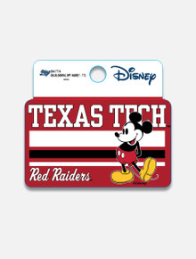 "Disney x Red Raider Outfitter Texas Tech ""Blocking Off"" Decal"