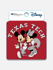 "Disney x Red Raider Outfitter Texas Tech ""College Fever"" Decal"