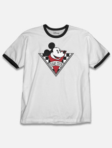 "Disney x Red Raider Outfitter Texas Tech ""Checkered Mickey"" T-Shirt"