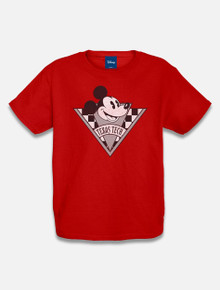 "Disney x Red Raider Outfitter Texas Tech ""Checkered Mickey"" YOUTH T-Shirt"