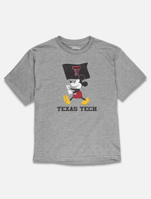 "Disney x Red Raider Outfitter Texas Tech ""Flag Waver Mickey"" YOUTH T-Shirt"