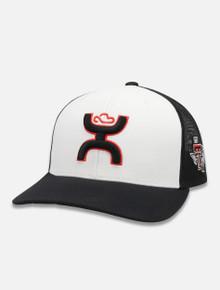 Texas Tech Red Raiders 2 Tone Hooey Cap w/ Hooey Logo and Pride on Side Snapback Cap Front