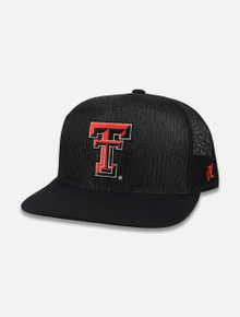 Texas Tech Red Raiders Hooey Cap with Double T All Mesh Snapback Cap Front