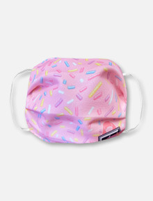 Pink Sprinkles Face Mask