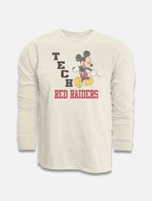 "Disney x Red Raider Outfitter Texas Tech ""Strutting Mickey"" Long Sleeve T-Shirt"