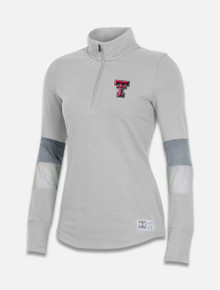 "Texas Tech Red Raiders Under Armour Women's ""Visual"" Gameday Quarter Zip"