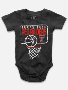 """Texas Tech Red Raiders INFANT """"Nothing But Net"""" Onesie"""