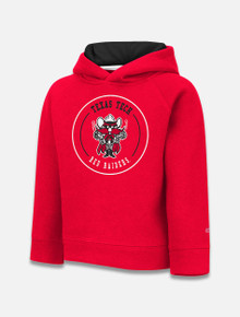 "Arena Texas Tech ""Plankton"" Raider Red TODDLER Pullover Hood"