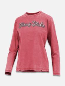 "Pressbox Texas Tech Red Raiders ""Go Girl"" Long Sleeve T-Shirt"