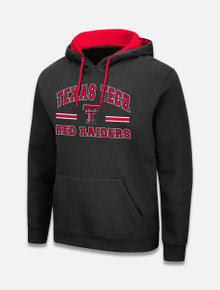 """Arena Texas Tech Red Raiders """"Rally"""" Pullover Hoodie in Black"""
