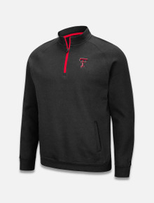 """Arena Texas Tech Red Raiders Double T """"Rally"""" Quarter Zip Jacket"""