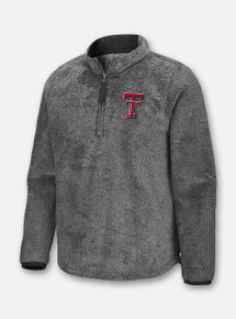 "Arena Texas Tech Double T ""Puffer Fish"" YOUTH Sherpa Pullover Front"