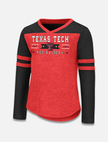 "Arena Texas Tech Red Raiders Double T ""Stars"" TODDLER Long Sleeve T-Shirt"