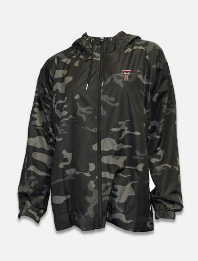 Summit Texas Tech Red Raiders Full Zip Camo Hooded Jacket