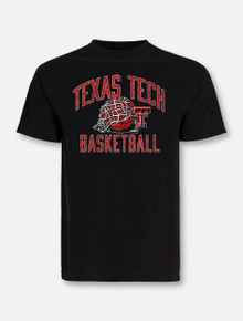 Texas Tech Red Raiders Rip It Basketball T-Shirt Front