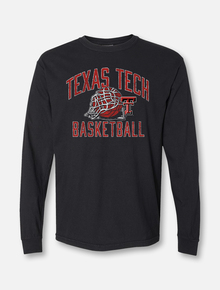 "Texas Tech Red Raiders ""Rip It"" Basketball Long Sleeve T-Shirt"