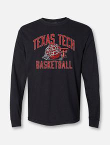 "Texas Tech Red Raiders ""Rip It"" Basketball Long Sleeve T-Shirt"