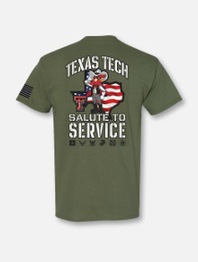 Texas Tech Red Raiders Salute to Service 2020 Short Sleeve
