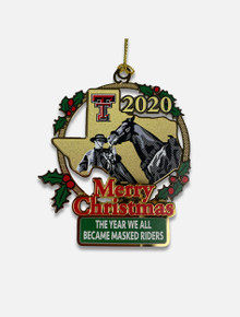 Texas Tech Red Raiders 2020 Collector's Ornament Close Up