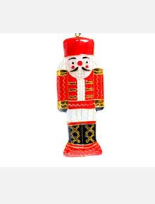 Kitty Keller Texas Tech Red Raiders Nutcracker Cloisonne Christmas Ornament