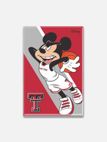 "Disney x Red Raider Outfitter Texas Tech ""Dunking Mickey"" Magnet"