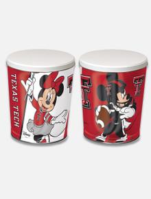 Disney x RRO Mickey and Minnie Football Popcorn Tin