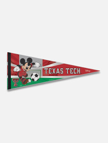 Disney x Red Raider Outfitter Mickey Soccer Player Pennant