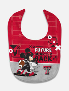 "Disney x Red Raider Outfitter ""Future Quarterback"" Football Baby Bib"