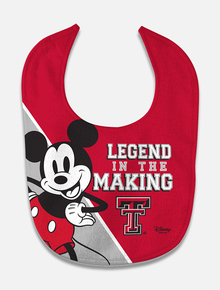 "Disney x Red Raider Outfitter ""Legend in the Making"" Baby Bib"
