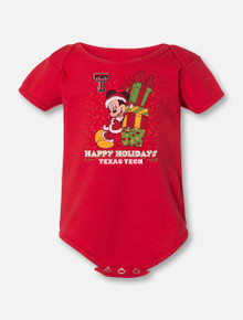 "Disney x Red Raider Outfitter ""Santa Lean"" Mickey Onesie"