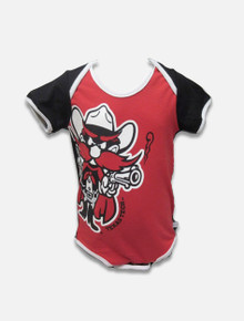 Texas Tech Red Raiders Oversized Raider Red INFANT Onesie