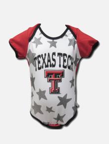 Texas Tech Red Raiders Raglan Star INFANT Onesie