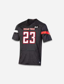 """Texas Tech Red Raiders Under Armour YOUTH """"Sideline 2021"""" Football Jersey"""