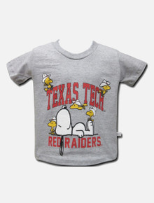 Texas Tech Red Raiders Snoopy and Woodstock TODDLER T-shirt